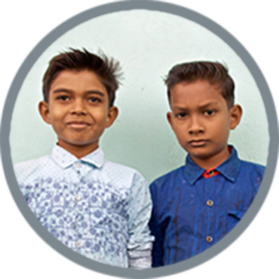 Birajveer and Puspit from India